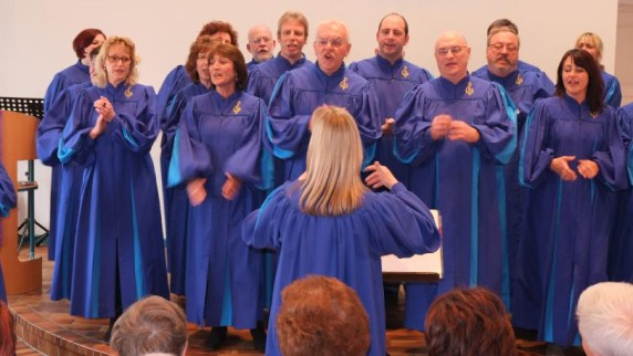Der Wilson Gospel Choir in Mering (16.03.2014)